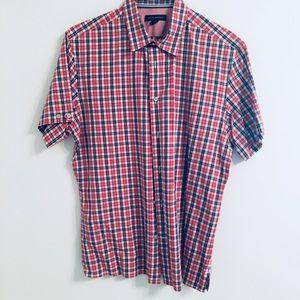 Banana Republic plaid shirt in men size L